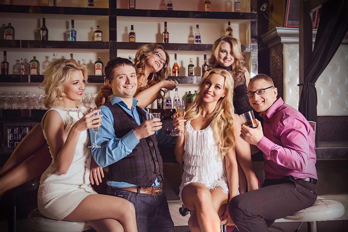 отвязная русская вечеринка зрелых